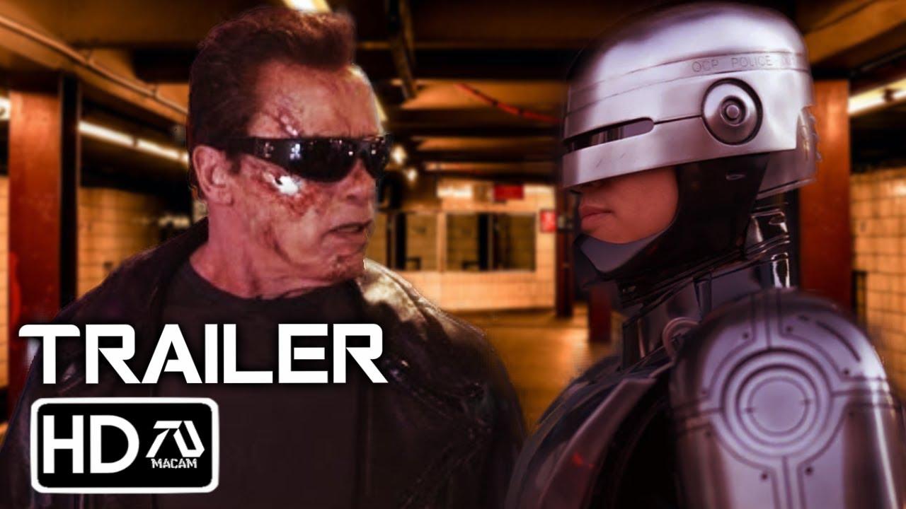 TERMINATOR 200 Terminator V Robocop Trailer 20   Arnold Schwarzenegger Fan  Made
