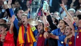 Download HIMNO DE LA CHAMPIONS LEAGUE - FC BARCELONA FINAL 2011 MP3 song and Music Video