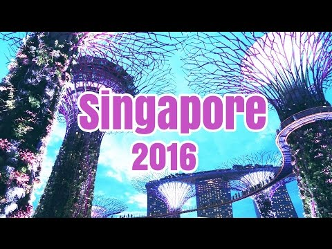 Travel Vlog || SINGAPORE 2016