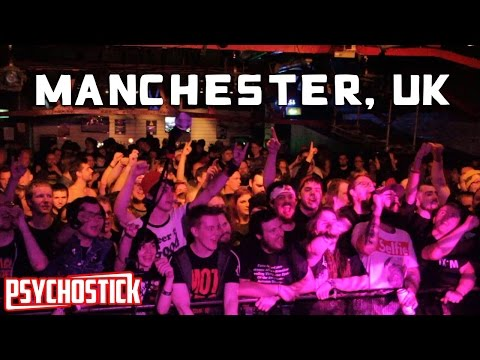 Psychostick in Manchester @ Sound Control - UK Tour Blog 3