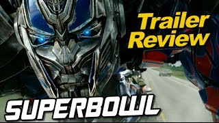 Transformers Age of Extinction Superbowl TV Spot ANALYSIS & Review - [TF4 News #87]