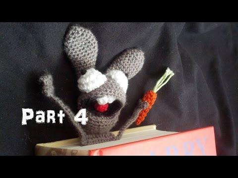 Amigurumi Learn : Learn how to crochet amigurumi bunny bookmark part youtube