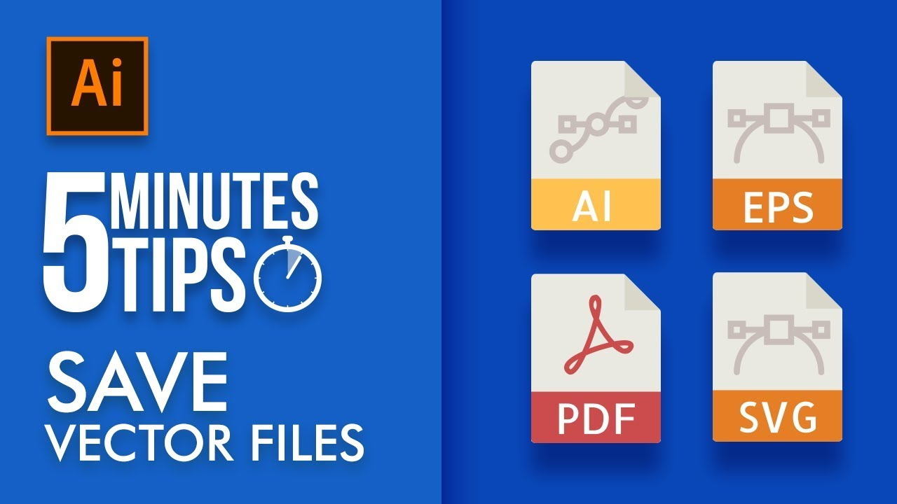 vector file formats in