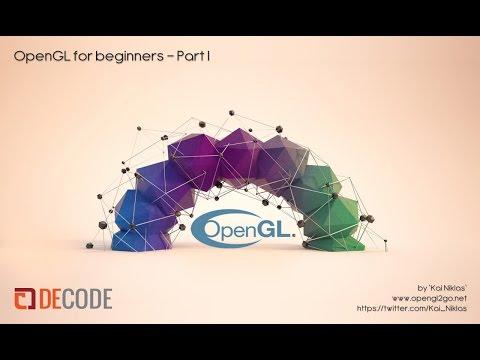 OpenGL Tutorial Workshop for Beginners Part I - glBegin / glEnd
