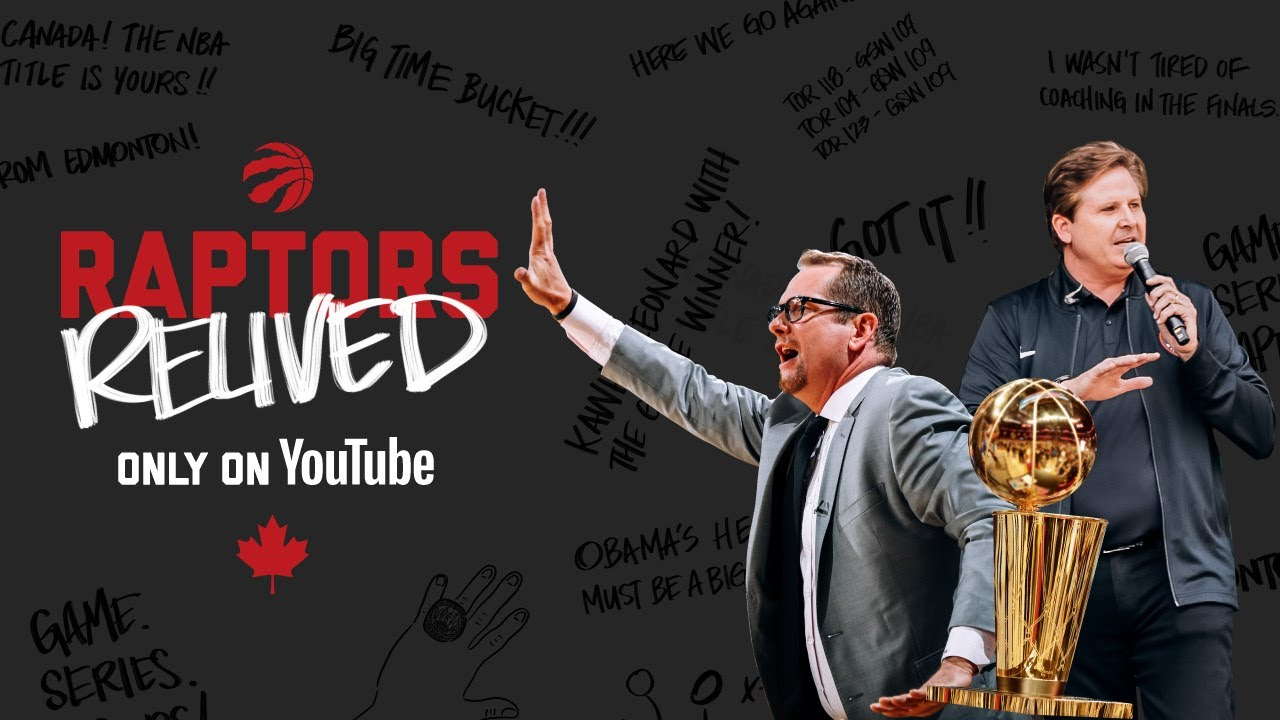 Relive Canada's first NBA Title with Nick Nurse & Matt Devlin
