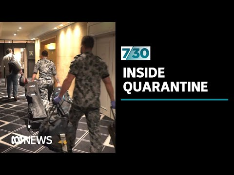 An exclusive look inside hotel quarantine in NSW | 7.30