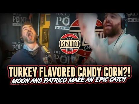 The fellas try BRACH's TURKEY DINNER candy corn...
