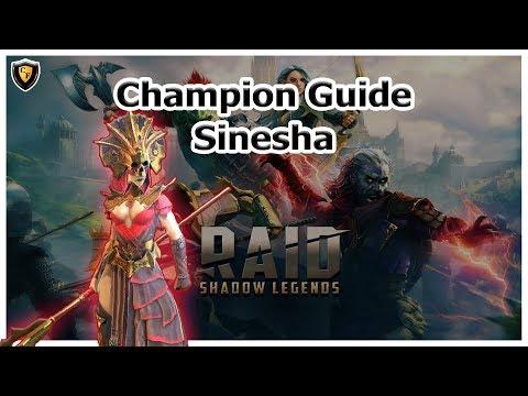 RAID Shadow Legends | Champion Guide | Sinesha