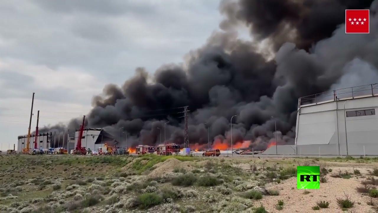 حريق هائل في إسبانيا  - نشر قبل 2 ساعة