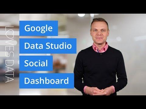 Create a Social Dashboard with Google Data Studio // Tutorial