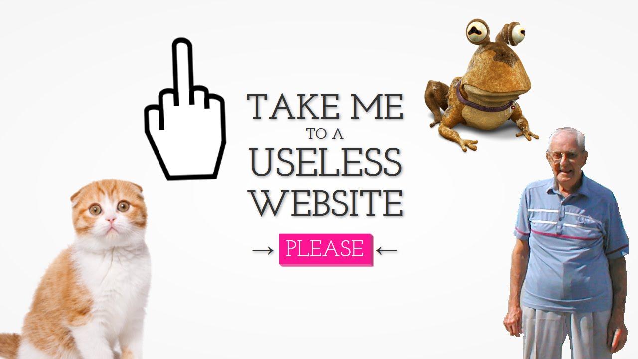 The Useless Web - Most Random Sites On The Net