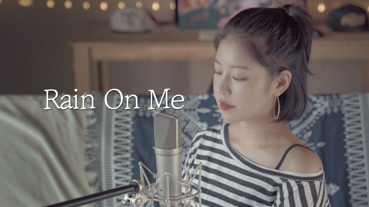 """[Piano ver] Ariana Grande & Lady GaGa """" Rain On Me """" cover by TIN ❤ │노래추천│Coversong│pop cover"""