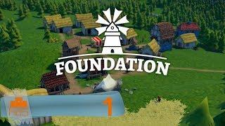 Foundation - Gameplay en español - #1 Construcción de ciudades