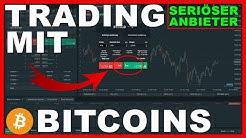 Trading mit Bitcoins | seriöse Handelsplattform | mit Hebel erklärt | Tutorial Deutsch Kryptowährung