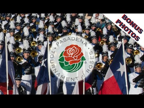 Best video of The Biggest Marching Band in America at the Rose Parade, Allen Eagle Escadrille 2016