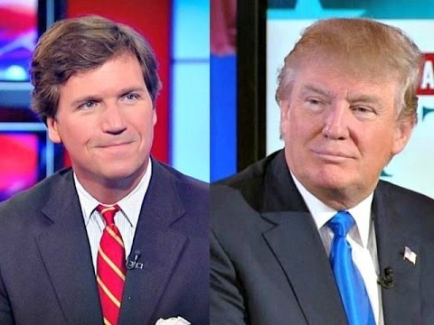 Image result for tucker carlson with trump picture together