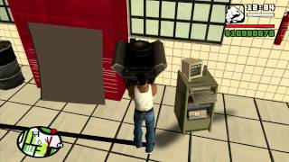 GTA San Andreas Bence's Garage Mod Developer Preview 3