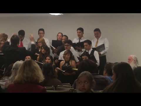 Los Angeles Mission College Holiday Concert 2016 Part 1