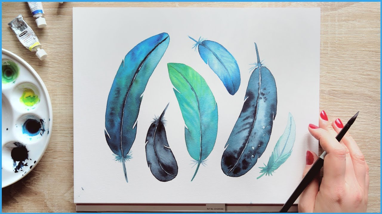 Simple Watercolor Painting Ideas For