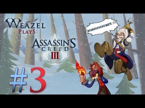 Assassin's Creed 3 - #3 - GUN PROBLEMS !