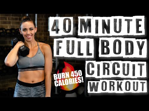 40 Minute Full Body Circuit Workout ��Burn 450 Calories!��