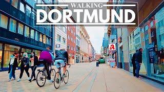 4K Walking in Germany Dortmund World Famous Soccer Team s City