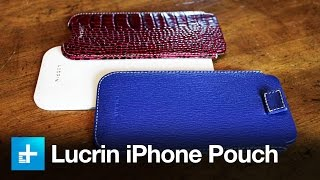 Lucrin iPhone 6 Leather Pouch - Review