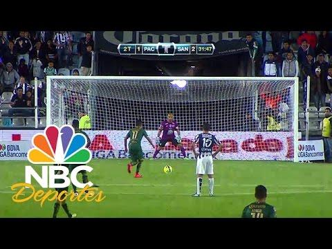 Pachuca 2-3 Santos (Mejores Jugadas) | LIGA MX | NBC Deportes