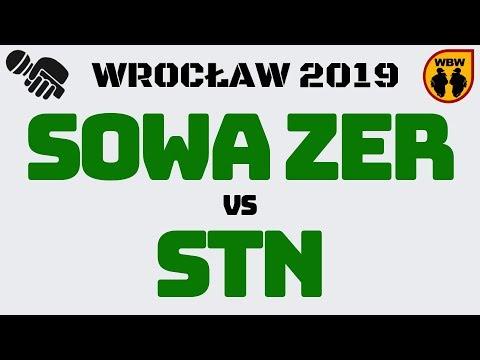 Sowa Zer 🆚 Stn 🎤 WBW 2019 Wrocław (1/8) Freestyle Battle