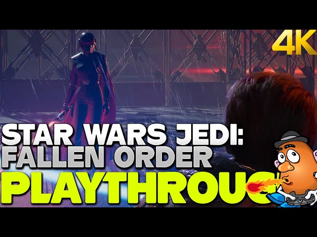Escape the Empire - Star Wars Jedi: Fallen Order Playthrough Part Two | Xbox One X 4K Gameplay