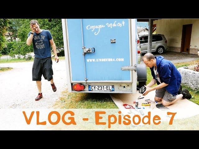 Vlog Notre Vie d'Artiste - Encore en panne ! - 48eme de rue et Orly