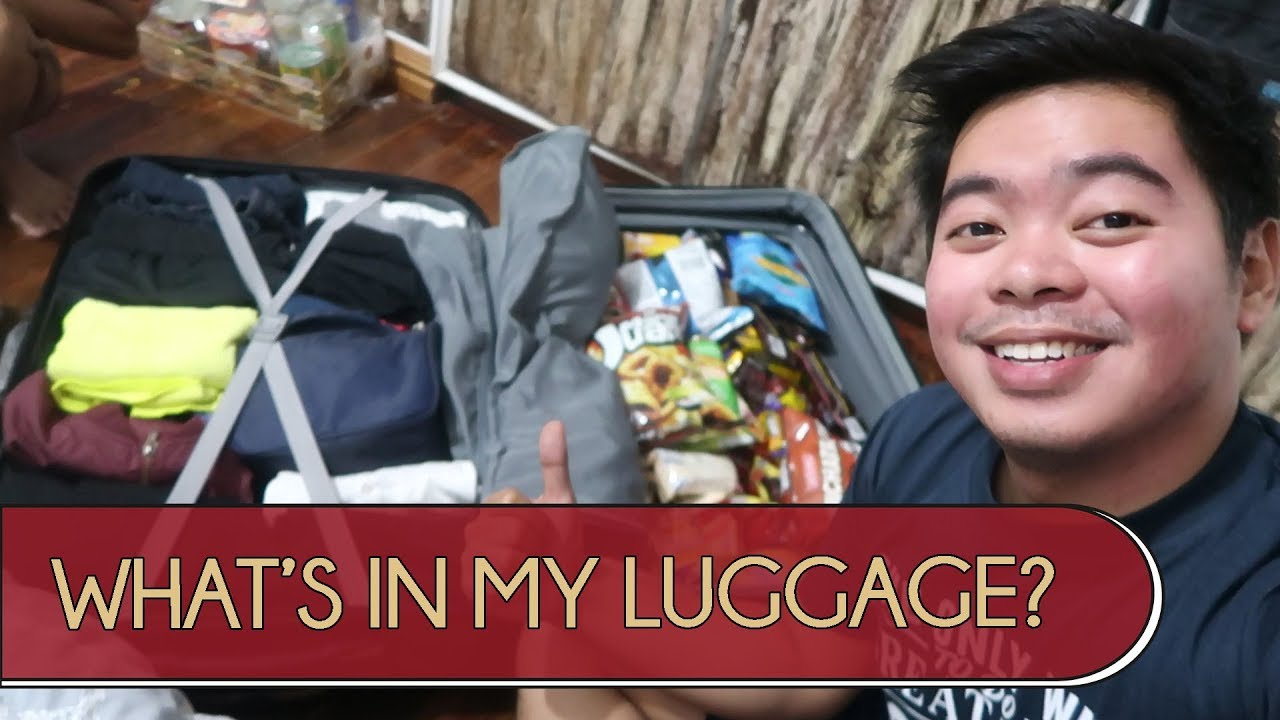 WHAT'S IN MY LUGGAGE? (PUNTA TAYO NG INDONESIA)