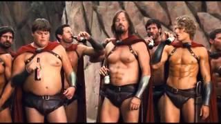 Спартанцы оценивают музыку/Spartans choice music
