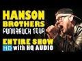 Capture de la vidéo The Hanson Brothers - (2014 Entire Show Hd) At Le Trou Du Diable