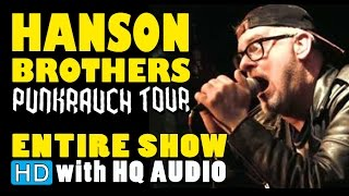 The Hanson Brothers - (2014 Entire show HD) at Le Trou du Diable