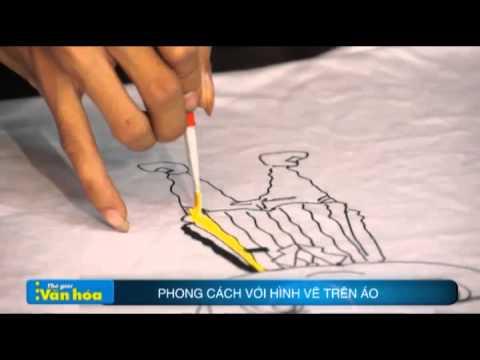 Tự thiết kế áo thun độc nhất vô nhị với màu acrylic