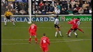 Fulham 0 Liverpool 2 02/03/2002