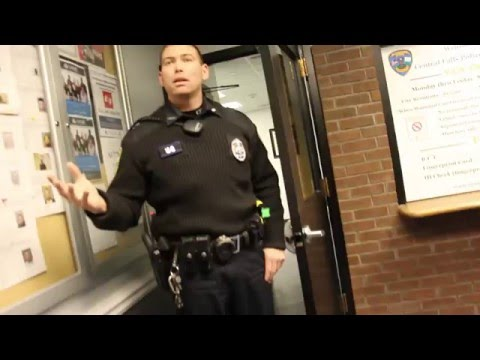 Central Falls Rhode Island  police was about to beat me up... So I started recording them