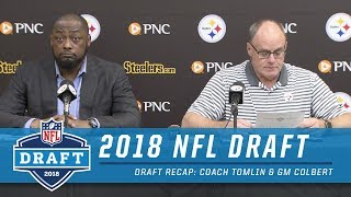 Coach Tomlin and GM Kevin Colbert Recap | 2018 NFL Draft