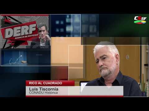 Tiscornia: Nos quieren imponer la República de los Mercados