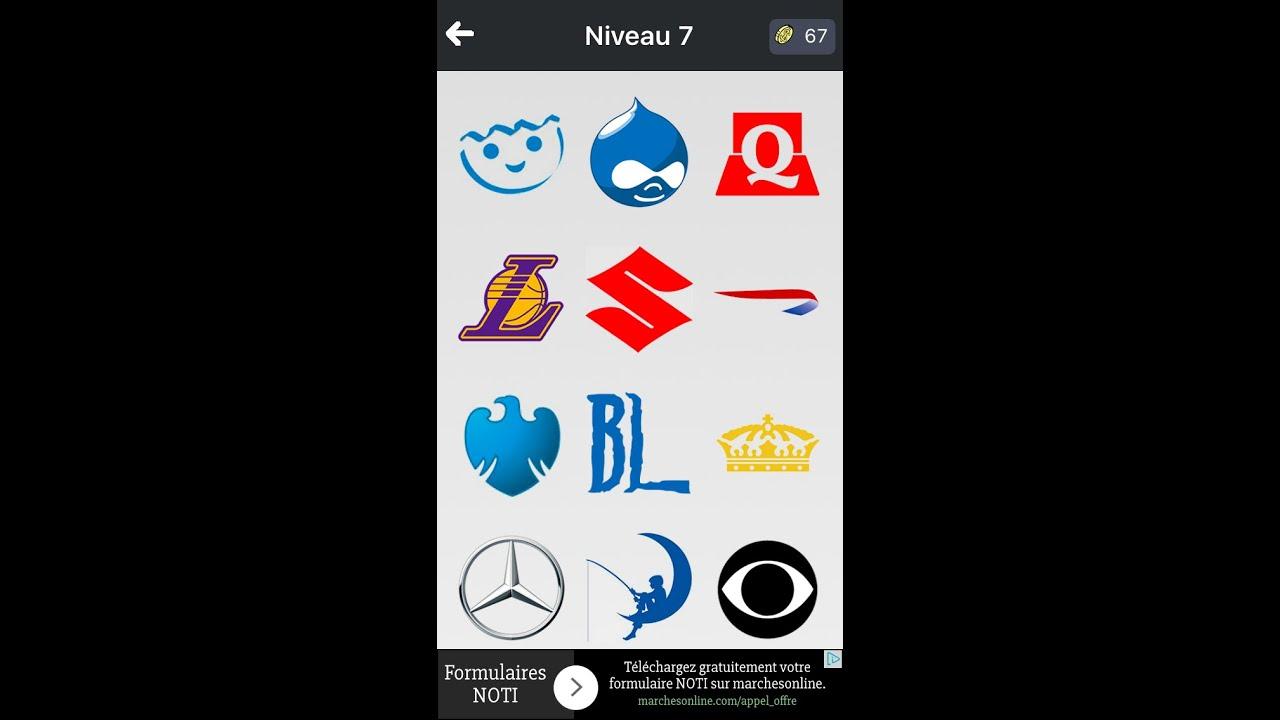 logo quiz niveau 7