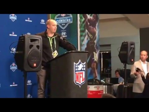 Bill O'Brien Houston Texans Head Coach Testy Response On Draft Rounds NFL Combine #NFLCombine