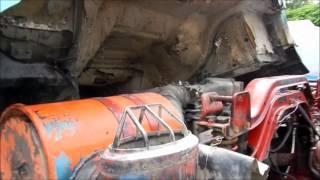 NISSAN- 十輪砂石 966-GP  Y:1992  ( 10 Wheeler dump truck)