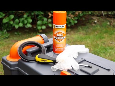 Practical Caravan – how to replace a Thetford toilet cassette seal