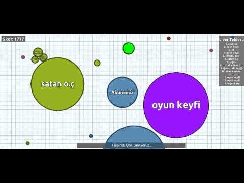 Zagar.io & 1. Bölüm & {Oyun Keyfi Hayranı} - YouTube