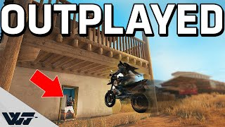 OUTPLAYED - Sending it fully and outplaying my enemies - PUBG