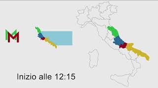 Sviluppo corridoio adriatico: intesa Marche, Abruzzo, Molise, Puglia