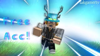 ROBLOX RICH ACCOUNT GIVEAWAY! 2019