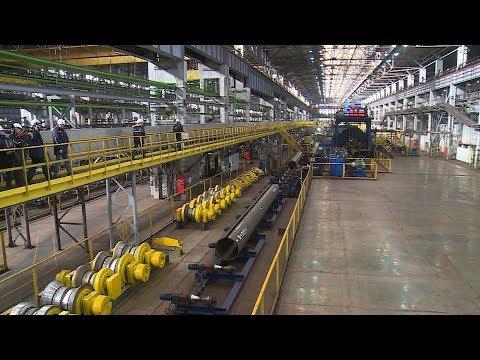 Волжский трубный завод планирует увеличить выпуск продукции