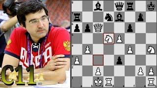 Крамник - Мейер Шахматная Олимпиада в Баку 2016 Французская защита